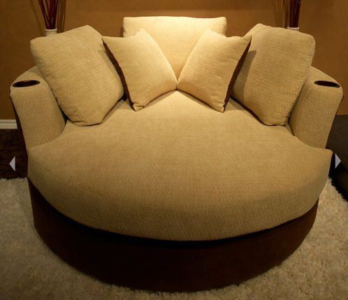 Home Theater Cuddle Couch - Designs by BSB
