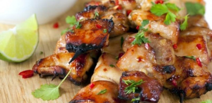 What's Cooking?  Grilled Key West Chicken