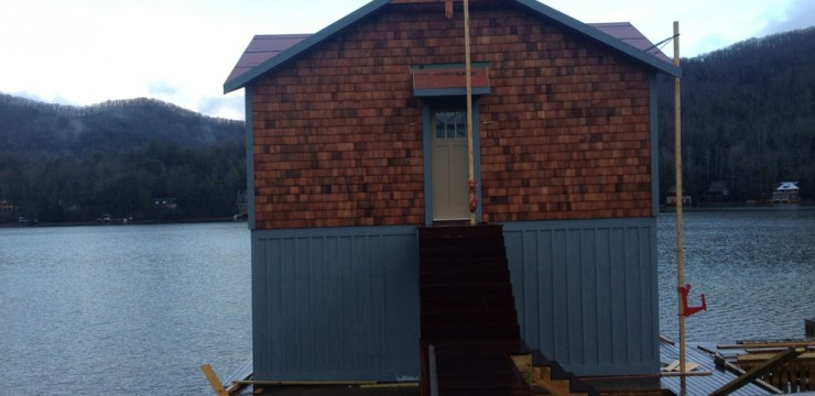 Project Storyline: Lake Burton Boat House