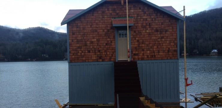 Project Storyline: Lake Burton Boat House