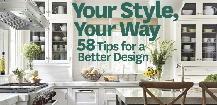 Designs by BSB featured in Kitchen and Bath Ideas® Fall 2013