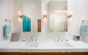 Master Bathroom with Bling