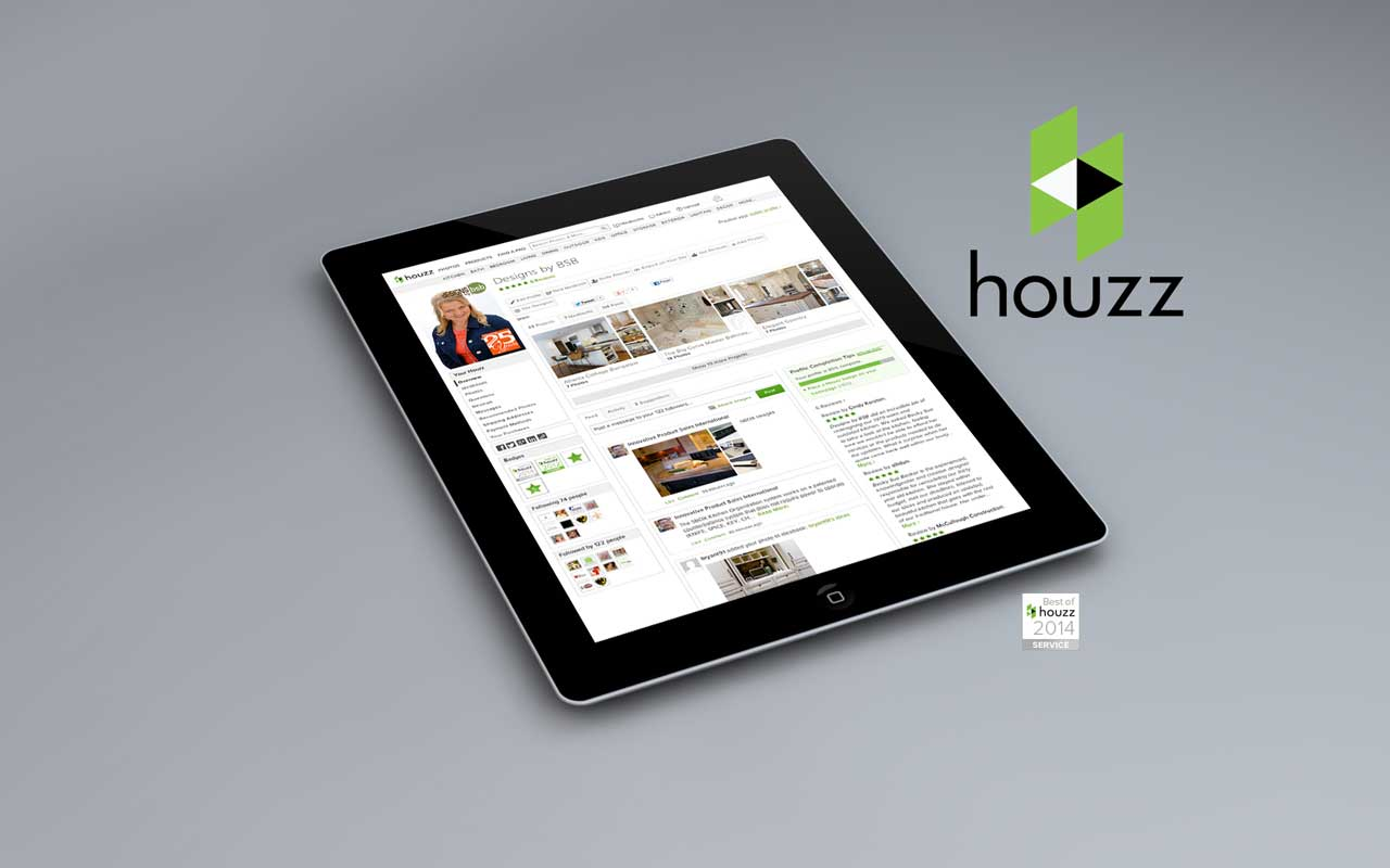 Designs by BSB awarded Best of Houzz 2014