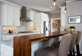 Kitchen-Wood Waterfall 0113