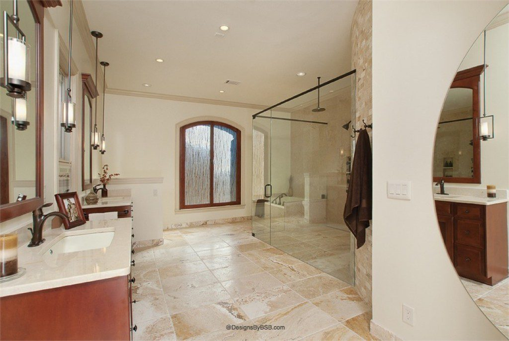 Natural bathroom remodel www.designsbybsb.com
