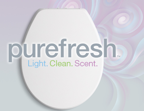 Purefresh™ Toilet Seat
