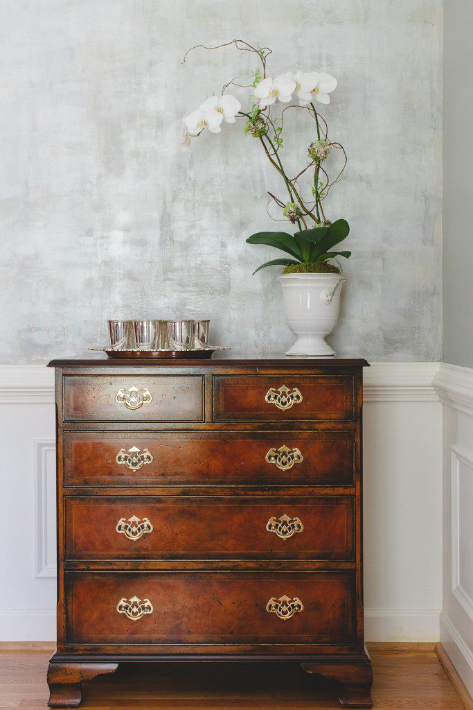 faux finish in sterling colors