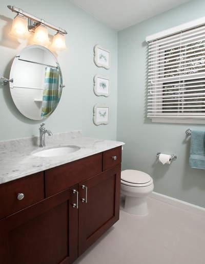 hall bath sink side