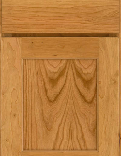 Park Place Flat Panel cherry Natural with Slab Drawer Front