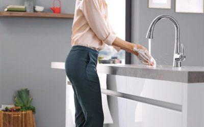 Tap Your Toe Faucet