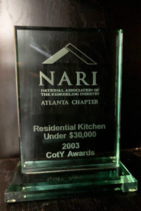 CotY Award